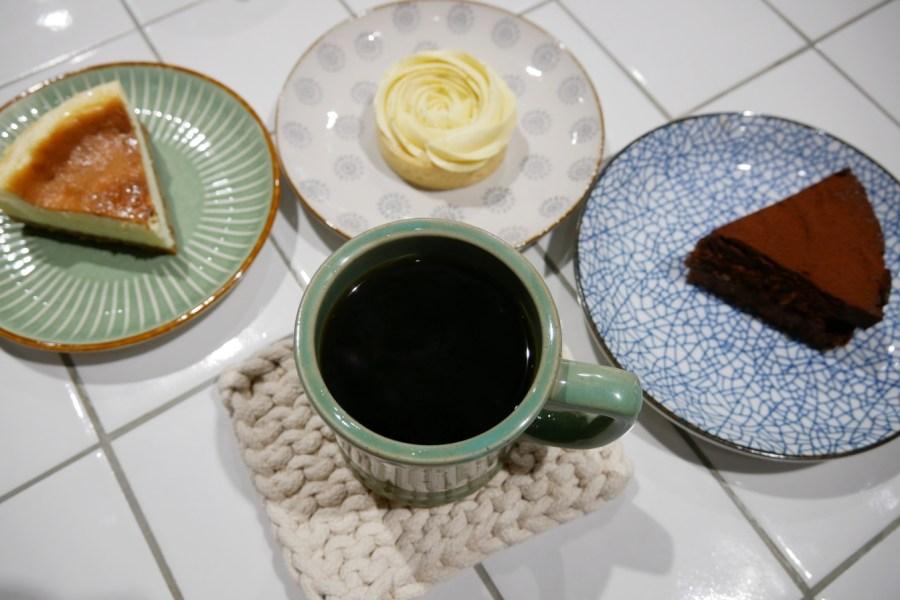 [桃園美食]啡行計畫|中正藝文特區附近新開咖啡館~玫瑰檸檬塔美的像朵花盛開 @VIVIYU小世界