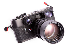 Leica M5 mit Elmarit 135 mm f/2,8 Canada