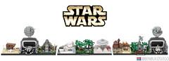 Star Wars - Original Trilogy Lego Skylines