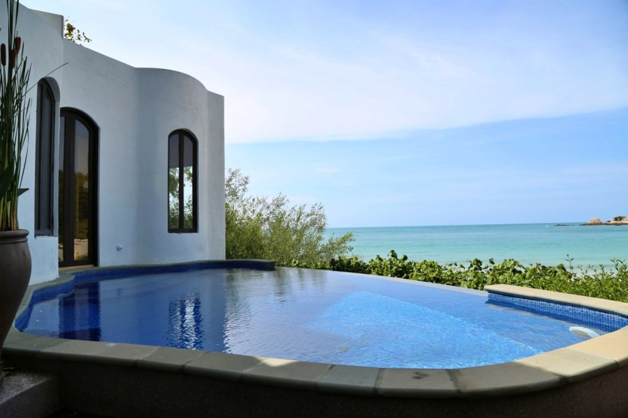 [羅勇住宿]沙美島Paradee Resort.帕拉迪度假村|島上最奢華渡假村.擁有私人沙灘與免費快艇接送服務.蜜月旅行首選 @VIVIYU小世界
