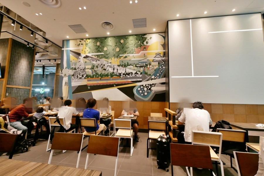 [大阪美食]SHAKE SHACK.心齋橋店|紐約最受歡迎的排隊漢堡~我最愛的奶昔.大丸百貨本館 @VIVIYU小世界