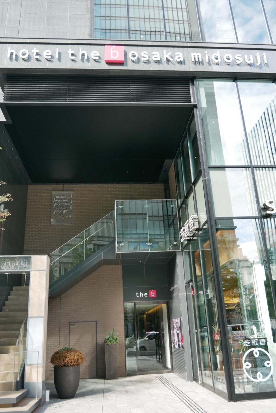 [大阪住宿]the b osaka midosuji.the b大阪御堂筋|鄰近心齋橋商店街~2019全新落成新飯店 @VIVIYU小世界