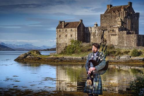 Eilean Donan Castle, Highland, Scotland