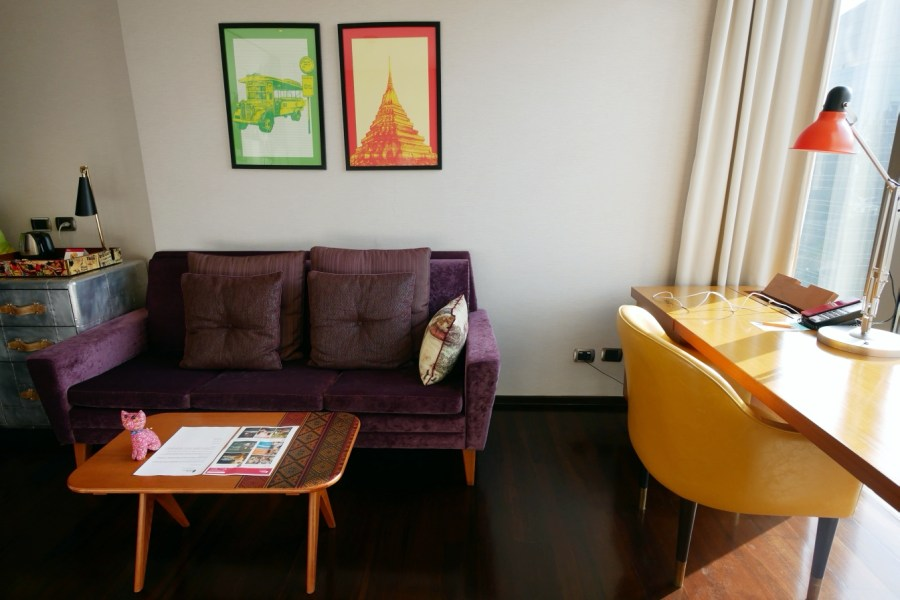 [曼谷住宿]曼谷無線路英迪格飯店 (Hotel Indigo Bangkok Wireless Road)|特色設計旅店~無邊際泳池&高空酒吧 @VIVIYU小世界