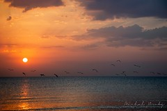 Sunrise in Larnaca