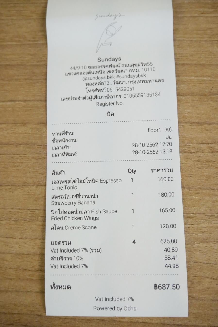 [曼谷美食]Sundays|近Phrom Phong站~結合咖啡、藝術和料理的複合式餐廳.混搭風格 @VIVIYU小世界