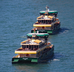 Emerald Class Ferries MV Bungaree and MV Victor Chang of Sydney Ferries