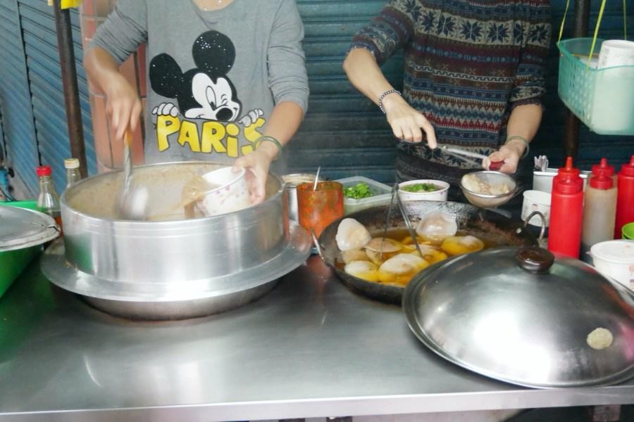 [八德美食]劉家大腸麵線.肉圓 永福西街巷弄美食~在地經營銅板美食點心 @VIVIYU小世界