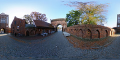 Neubrandenburg - Treptower Tor 360 Grad