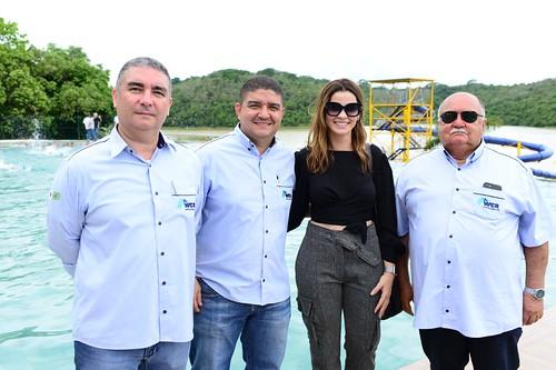 Laura Lage entre o poder da WRC, Rodrigo, Diego e Waguinho