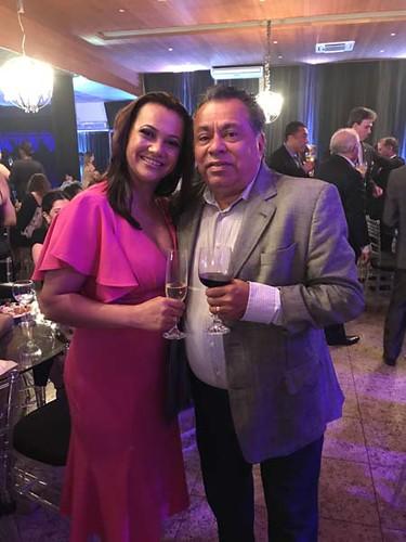 Luís C arlos Miranda e esposa