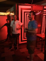 Daniel Cassús at Monster Ronson's Ichiban Karaoke