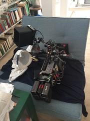 Camera Equipment in Daniel's Apartment