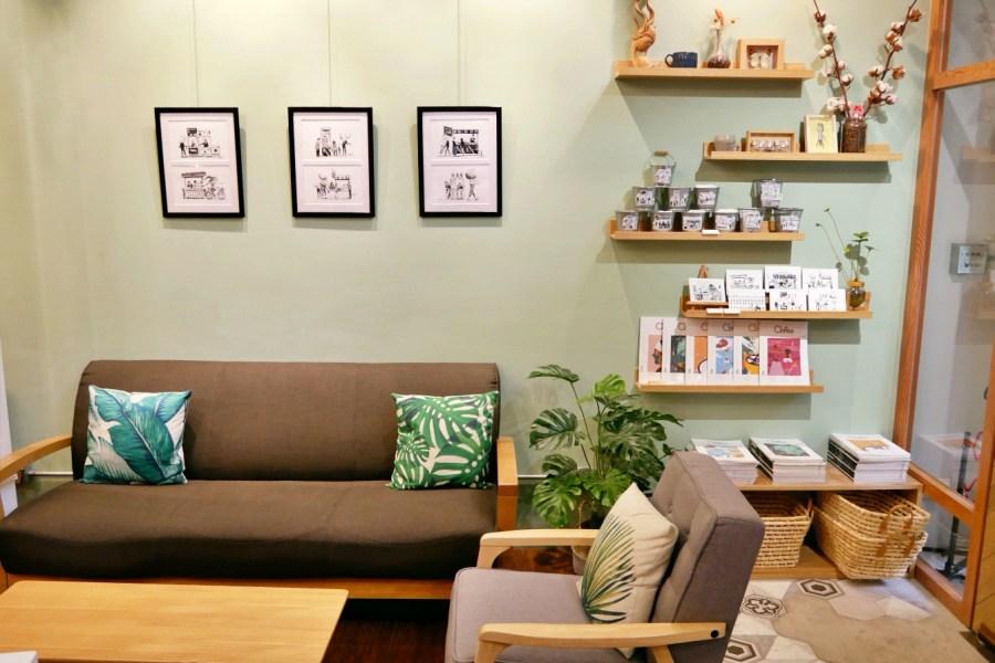 [桃園美食]寶山商圈|The Good One Coffee Roaster~隱藏在巷弄之中充滿咖啡香的自家焙煎珈琲 @VIVIYU小世界