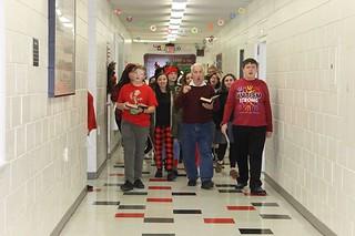 Christmas Caroling by our Choir