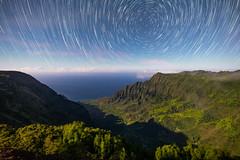 Kalalau Valley Star Trails