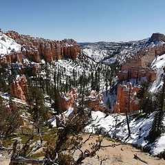 """Fairview Point"" in Bryce Canyon"