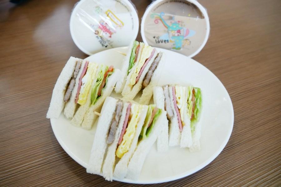 [八德美食]心晟複合式早午餐|八德大潤發附近平價早午餐‧現點現做的美味餐點 @VIVIYU小世界