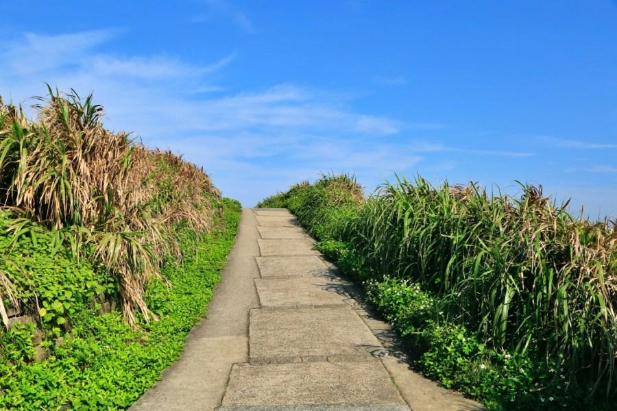 [新北景點]富貴角燈塔|台灣本島最北燈塔‧老梅石槽旁邊北海岸美麗景點 @VIVIYU小世界