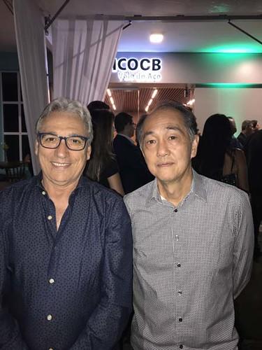 Manoel Andrade e o presidente da Consul, Adilson Suda
