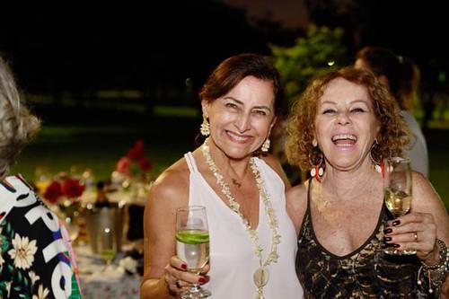 Ceci Guerra e Sandra Moratti