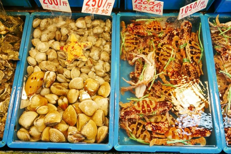 [新北景點]富基漁港|北海岸吃海鮮必訪景點‧活跳跳超新鮮活海鮮與味味餐廳代客料理 @VIVIYU小世界