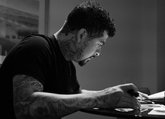 Tattoo Artist Jr. Diaz