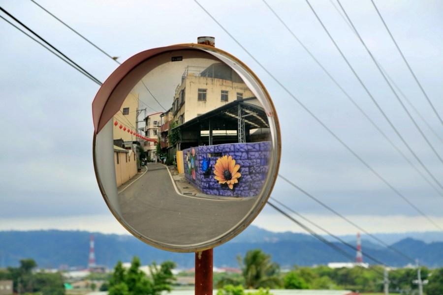 [台中旅遊]舊社里彩繪 后里區免費景點~3D互動彩繪大師曾進成作品.看看你能找到幾幅畫? @VIVIYU小世界