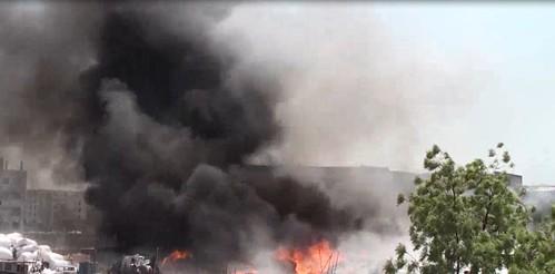 Gazipur-(3)- 28 March 2020-Fire At Konabari-2