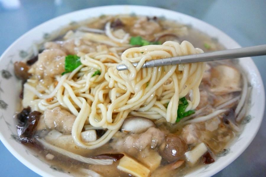 [台中美食]后里銅板美食.香蕉樹餐飲店|香菇肉羹湯料好實在~銅板小吃推薦 @VIVIYU小世界