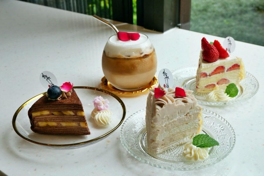 [桃園美食]悠食咖啡Yours cafe 朱永洪手作甜點~滿滿的千層蛋糕.創意早午餐盤 @VIVIYU小世界