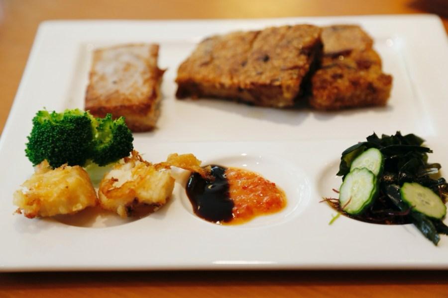 [苗栗美食]三義居鳩堂庭園茶屋|精緻的客家米食套餐.筷子可帶回家~庭院悠美並可參觀木雕作品 @VIVIYU小世界