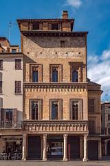 Casa del Mercante, Piazza Erbe, Mantova, Italia