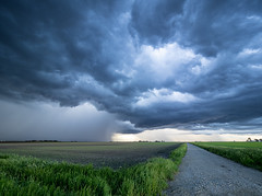 Thursday Evening Storm Clouds
