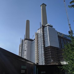 My exercise today took me to Battersea Power Station