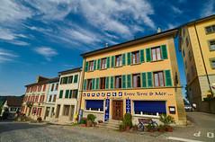 Rue canton de Fribourg