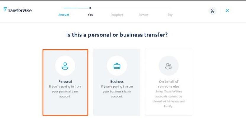 Transferwise開始匯款2
