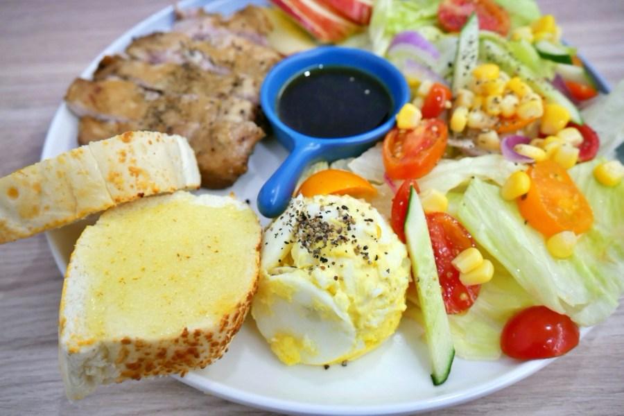 [桃園美食]露卡輕食早午餐 Lu Car|藝文特區裡新開早午餐~胖卡行動餐車轉戰溫馨小店面 @VIVIYU小世界