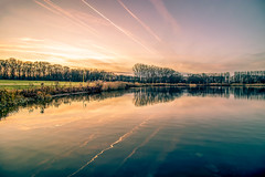 Sunset at Nieuwdonk