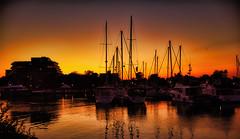 Bronte harbour, Oakville, Canada