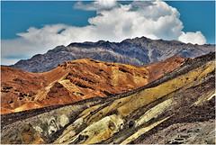 American West  -  Mineral Strata  //  Death Valley  -  Valle de la Muerte