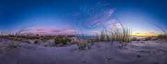 West Beach Sunset Panorama