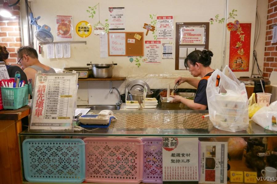 [桃園美食]燒臘大師|傳承台北市蘭州街40年燒臘的好味道~燒鴨油亮又多汁.另有隱藏版八寶飯 @VIVIYU小世界