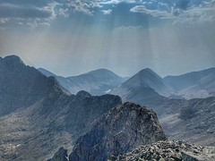 View towards the southwest from Blanca Peak