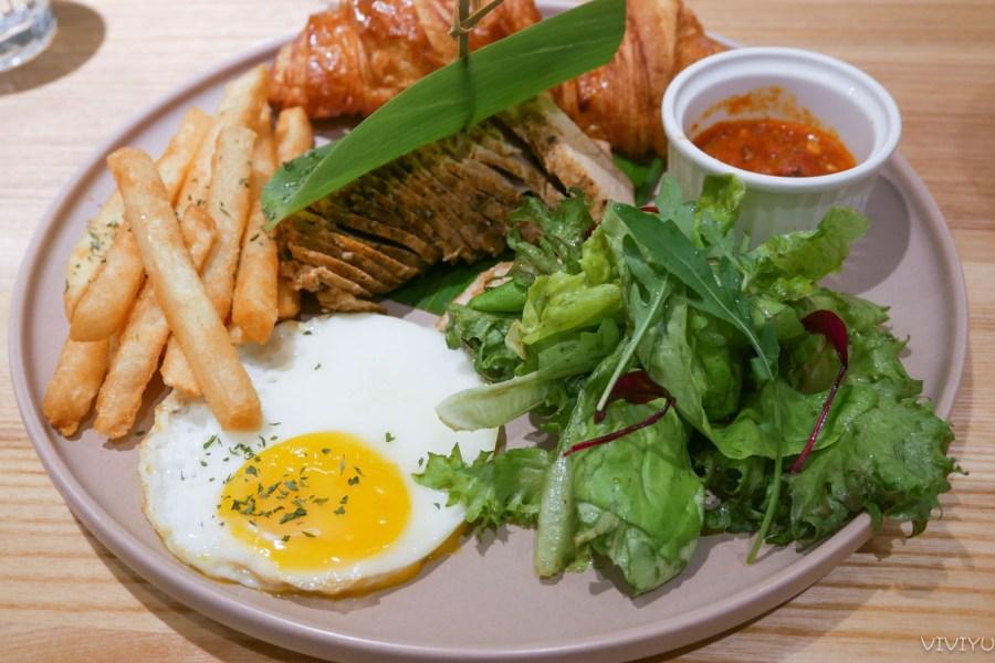 [大園美食]不挑食Butiaoshi|青埔桃園高鐵站附近新開早午餐店~書法公園對面.綠意盎然 @VIVIYU小世界