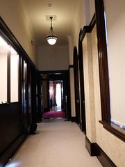 食堂への廊下