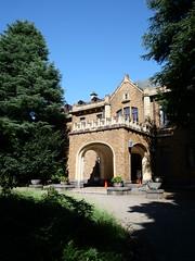 旧前田侯爵邸の正面玄関