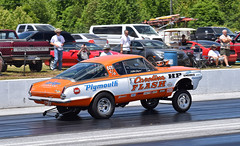 The Carolina Flash Plymouth Barracuda C/Gasser