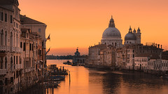 Golden morning in Venice