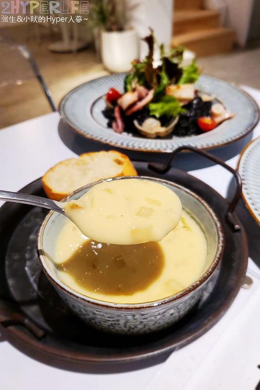 50414810606 2757810f4a c - 簡約裝潢頗具質感的Giocoso pasta&cafe,想在精明商圈裡吃義式美食可以一試~